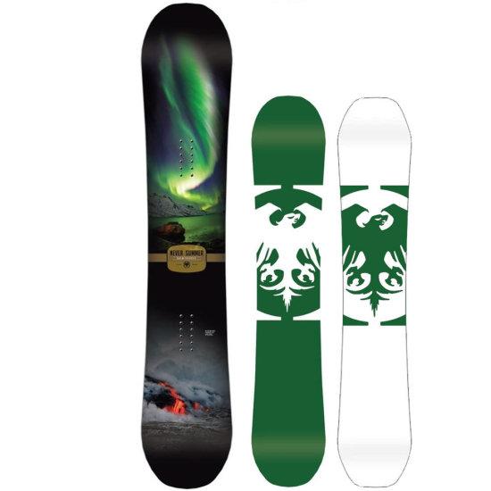 Never Summer Snowtrooper Allmountain Snowboard 156 cm