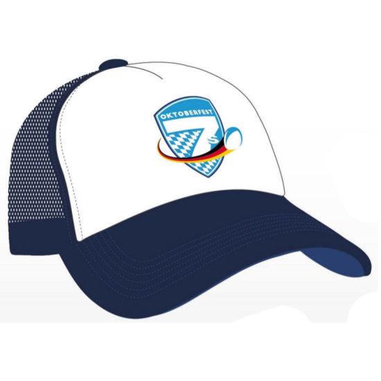 Oktoberfest7s Truckercap Logo - blau