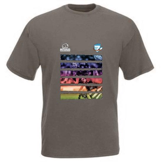 Oktoberfest7s Tshirt Rugby - charcoal XL