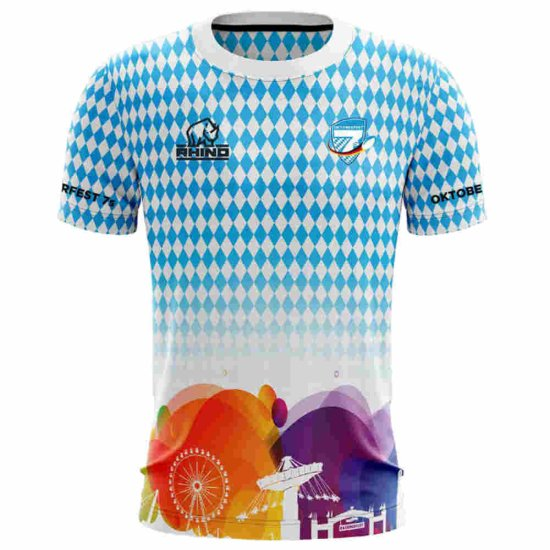 Oktoberfest7s Jersey Wiesn - multicolor 3XL