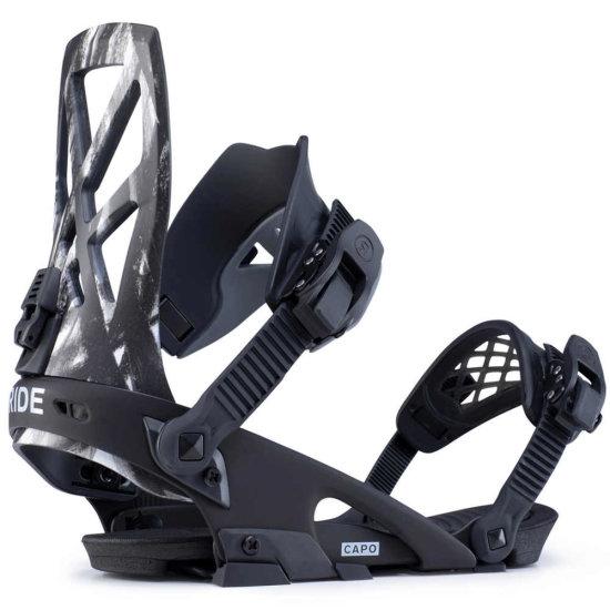 Ride Capo Snowboardbindung - black L